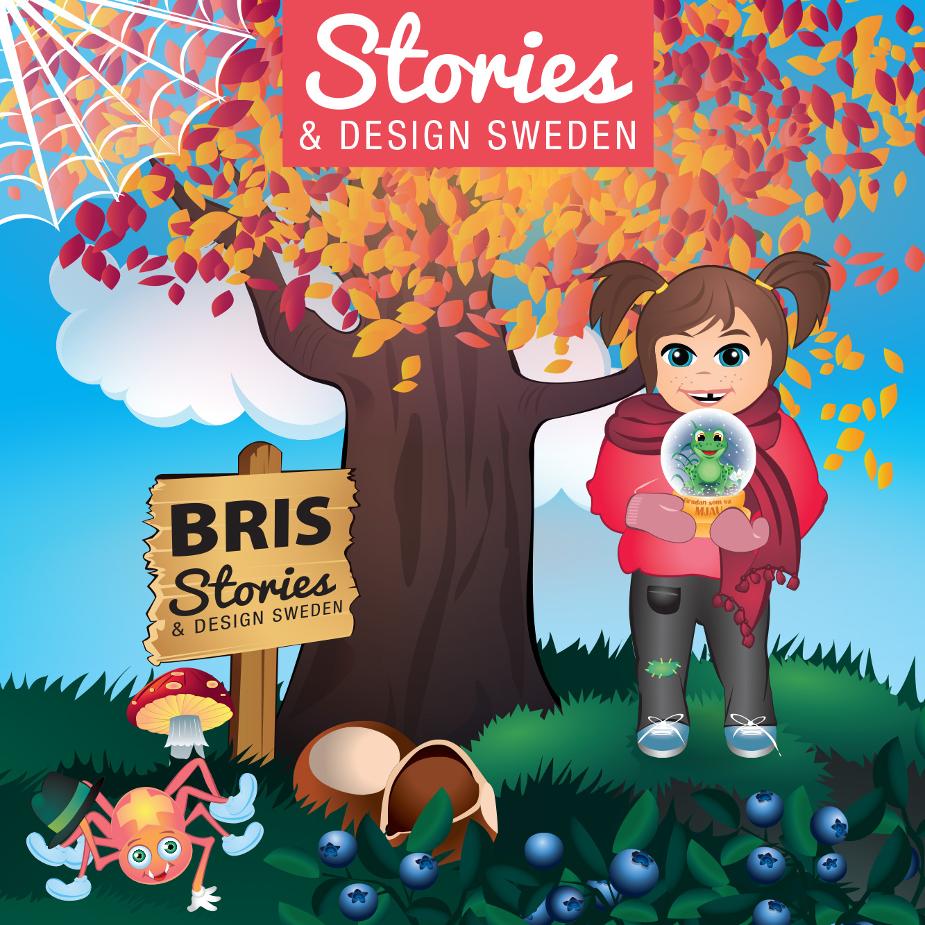 Stories & Design Sweden blir supporter till Bris!